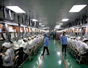 Foxconn iPhone 5 Assembly Line - ScuffGate